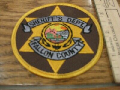 WHITE PINE COUNTY SHERIFF NEVADA Police Patch COUNTY SHAPE GOLD