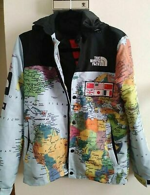 f25c1e1e SUPREME NORTH FACE Map Jacket Atlas - $75.85 | PicClick