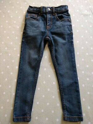 Tu Boys Jeans Skinny Fit Stretch Jeans 5 Years 110cm In Excellent Condition!