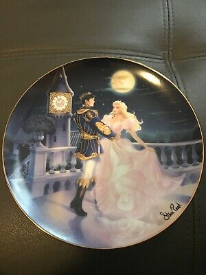 Franklin Mint Cinderella Magic Till Midnight Limited Edition Plate