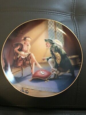 Franklin Mint Cinderella If The Shoe Fits Limited Edition Plate