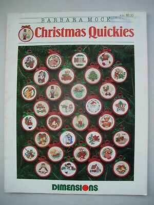 Christmas Quickies - Barbara Mock - Ornaments - Cross Stitch Pattern Booklet