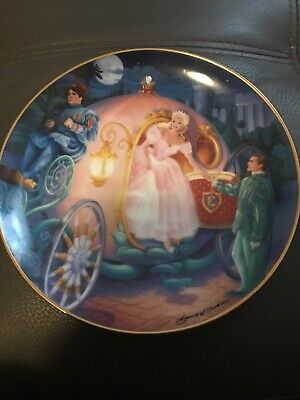 Franklin Mint Cinderella. Cinderellas Magical Journey Limited Edition Plate