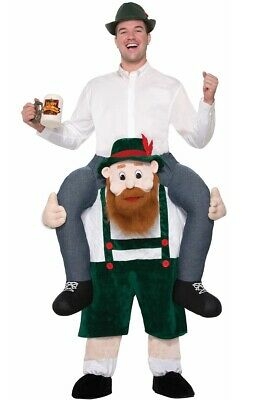 Oktoberfest Beer Buddy Adult's Piggyback Costume Genuine Forum Novelties - New