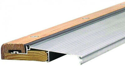 Adjustable Sills - Inswing Door Threshold 5-5/8 X 76 In. Aluminum And Hardwood