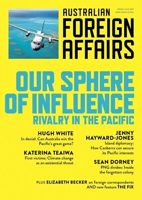 Australian Foreign Affairs Issue 6 July 2019 W44 9781760641542
