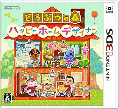 USED 3DS Animal Crossing Happy Home Designer Free shipping from JAPAN