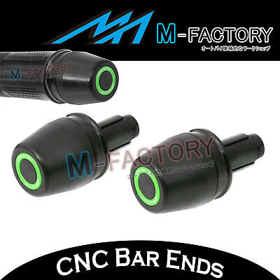GREEN OWL Motorcycle Bar Ends Pair Fit KTM 1290 Super Duke R 14 15 16