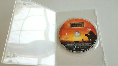 The Lion King DVD, not in original case