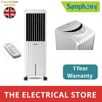 Evaporative Air Cooler Remote Control Symphony WINTER I White 1 Year Warranty