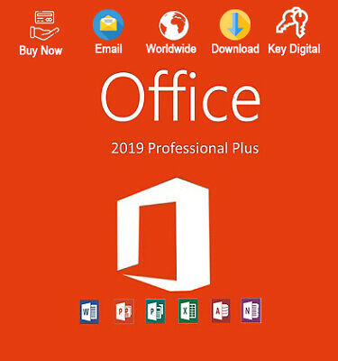 Office 2019 Pro Plus 32/64Bit License Genuine For 1 PC
