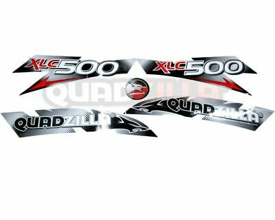 Genuine Quadzilla XLC 500 Sticker/ Decal Kit Set