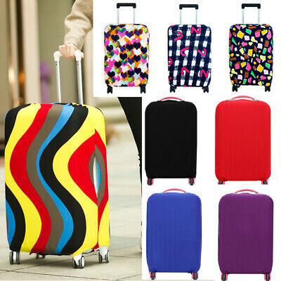 Colourful Luggage Protector Elastic Suitcase Cover Bag Dustproof Anti Scratch LL