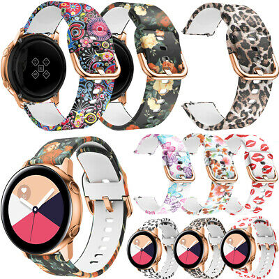 20mm Printed Wrist Band Strap Replacement Bracelet For Samsung丨Ticwatch 2丨Garmin