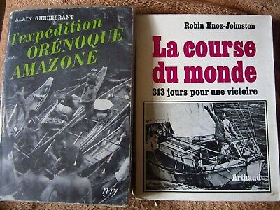 Lot 2 Livres Anciens D Occasion Expedition Orenoque Amazone