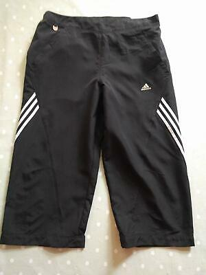 "Adidas Girls Clima 365 Cropped Trousers 30"" 164cm Immaculate"