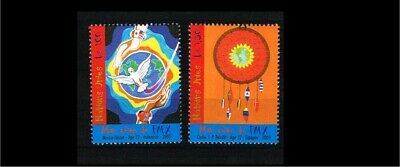 [VZ015_14] 2005 - VN/UNO Geneva MNH Mi. 526-527 - My dream for peace one day