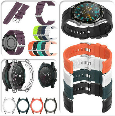 Silicone Watch Band Wrist Strap For Huawei Watch GT Active / Elegant 20mm/22mm