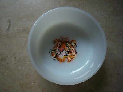 Vintage Fire King Exxon Tiger Bowl Oven Ware Made in U.S.A.