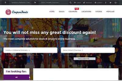 Incredible Coupon Website Free Installation+Hosting
