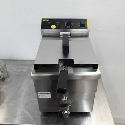 Commercial Fryer Single Table Top Induction 7.5 L Buffalo CP793