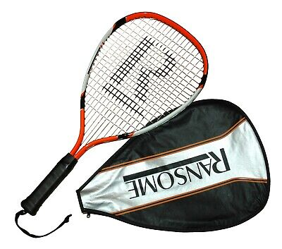 Ransome R3 Drive Racketball Racket with 3/4 Cover