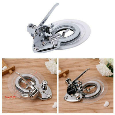 Functional Flower Stitch Circle Embroidery Presser Foot For Sewing Machine  DS