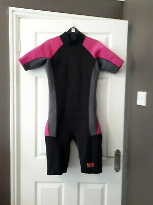 """shorty wetsuit 36"""" Fits 14 - 16 Yrs But Would Fit Ladies 10 - 12"""