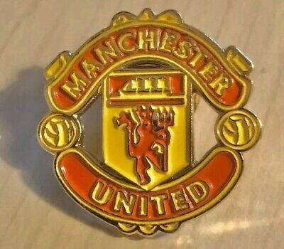 Manchester United Metal Pin Badge Official Man Utd Football Club Metal MUFC