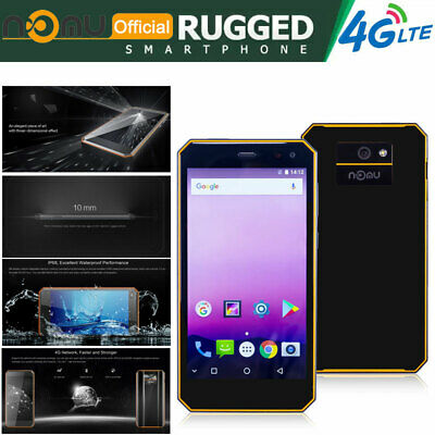 4G LTE Unlocked Smartphone Rugged Android Mobile Waterproof IP68 Dual SIM Nomu