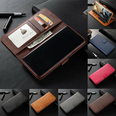 For Samsung Galaxy S6 S7 Edge S8 S9 Plus Flip Magnetic Leather Wallet Case Cover