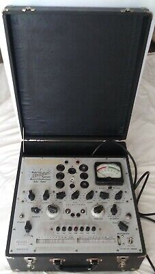 Vintage Hickok Dynamic Mutual Conductance Tube Tester 533A, Working Condition