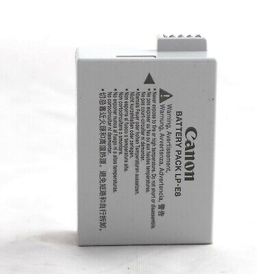 Genuine Canon Battery Pack LP-E8 for Canon EOS 550D, 600D, 650D,700D 1171D