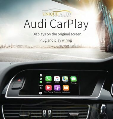 Sans Fil Carplay Interface pour Audi A4 A5 Q5 B8 2009-16 avec Mmi 3G Base