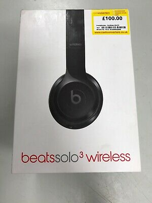 Beats by Dr. Dre Solo3 Wireless Headphones - Black