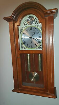 Acctim Radio Controlled Movement Wall Clock / Tempus Fugit / Westminster Chime