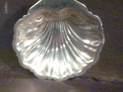 """Sterling B&M SHELL BUTTER DISH OR CANDY 1/2"""" x 3"""" X 3"""""""