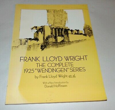 "1992 THE COMPLETE 1925 ""WENDINGEN"" SERIES Dover Pub FRANK LLOYD WRIGHT"