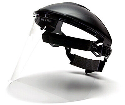 Pyramex Safety Products S1020-TV Face Shield Visor Replacement, Clear - Quantity