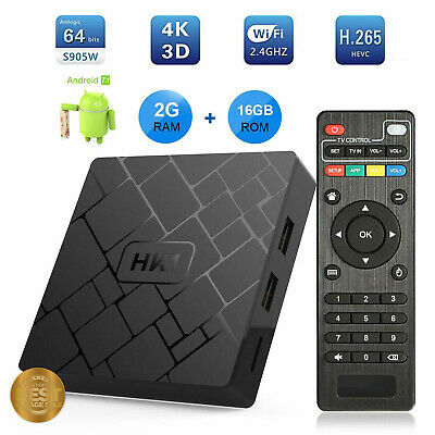 LIVE BOX TV - Android Smart TV box 16GB Streaming, App, Smart Television Box