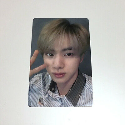 """BTS Jin """"Lights/Boy With Luv"""" Japan Official Fanclub ARMY Limited Photocard"""