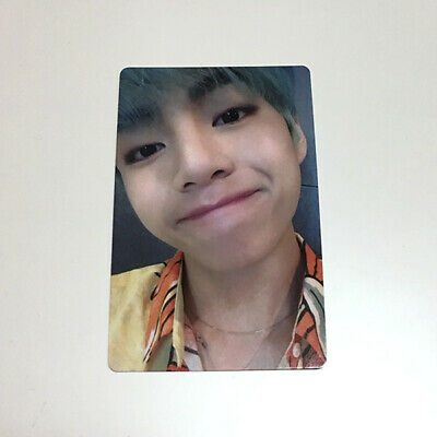 "BTS V ""Lights/Boy With Luv"" Japan Official Fanclub ARMY Limited Photocard"