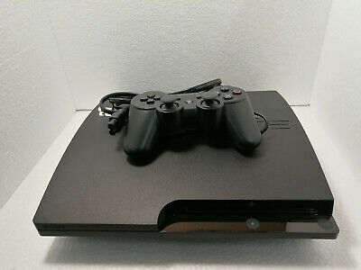 Sony PlayStation 3 Slim Launch Edition 500GB Charcoal Black Console (CECH-3001A)
