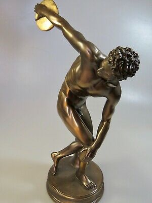 Discobolus (Decorative statue / sculpture 31cm / 12.20inches)