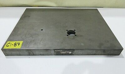 "18"" x 24"" Cast Iron Surface Fixture Layout Plate for Metalworking"
