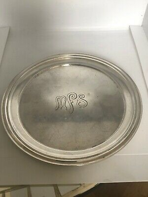 "Antique Early c20 Gorham Sterling Silver Bread & Butter Plate Salver 6"" 109g"