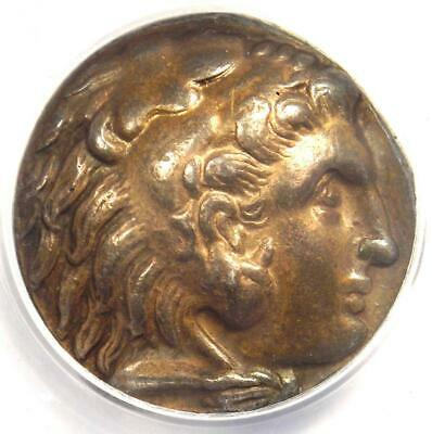 Alexander the Great III AR Tetradrachm Babylon Coin 325-323 BC - ANACS XF45!