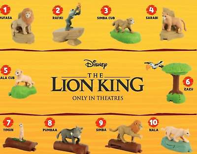 2019 McDONALD'S DISNEY'S THE LION KING HAPPY MEAL TOYS! PICK YOUR FAVORITES!