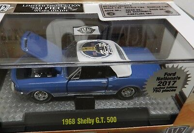 Ford Mustang Shelby Gt 500 Blue Carlisle 2017 750 Promo Pony Car M2
