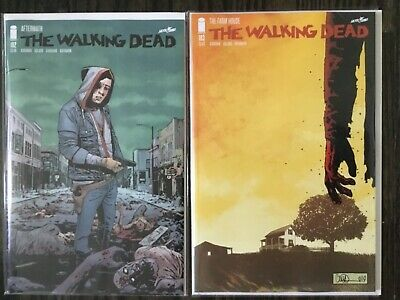 Walking Dead 193 & 192 - 1st Prints | Key Issues | Death of Rick & Walking Dead